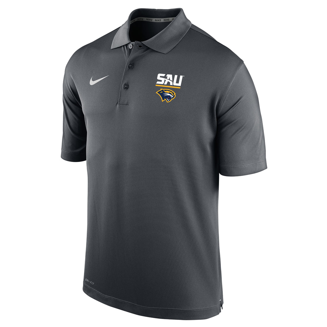 Nike Men's Varsity Polo, Anthracite