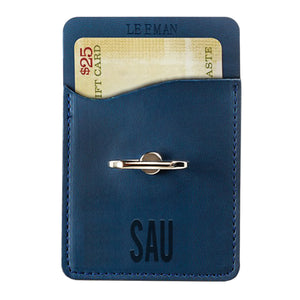 Spirit Mobile Tuscany Card Holder & Phone Stand, Navy