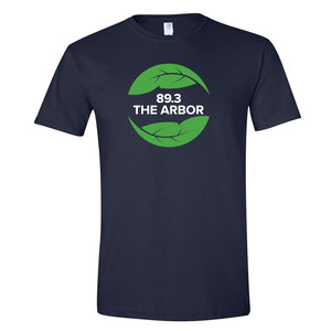 Gildan Softstyle Tee 89.3 The Arbor, Navy