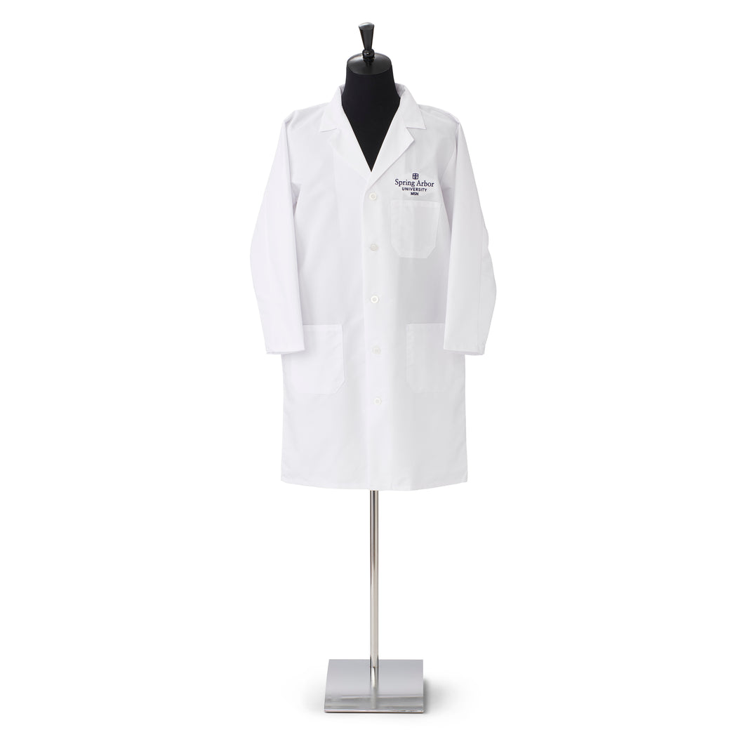 Men's Nursing Lab Coat, White
