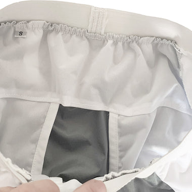 back and front protection for reusable adult diapers