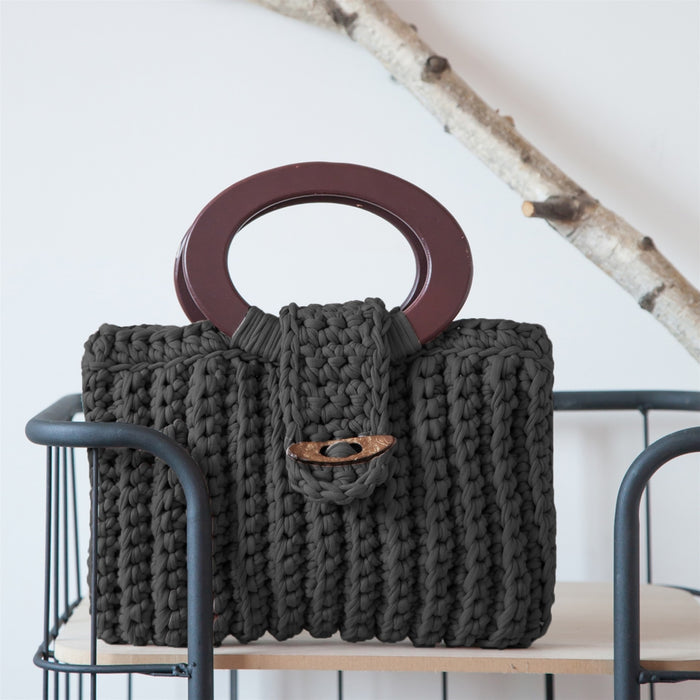 Set de Tejido Cartera Vienna Anthracite-[product type]-[product vendor] - Modista