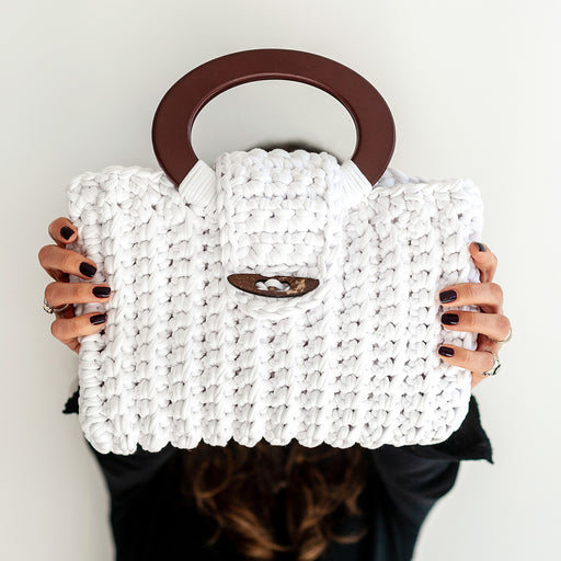 Set de Tejido Cartera Vienna White-[product type]-[product vendor] - Modista