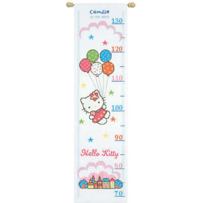 Set de bordado medidor de Crecimiento Hello Kitty-[product type]-[product vendor] - Modista