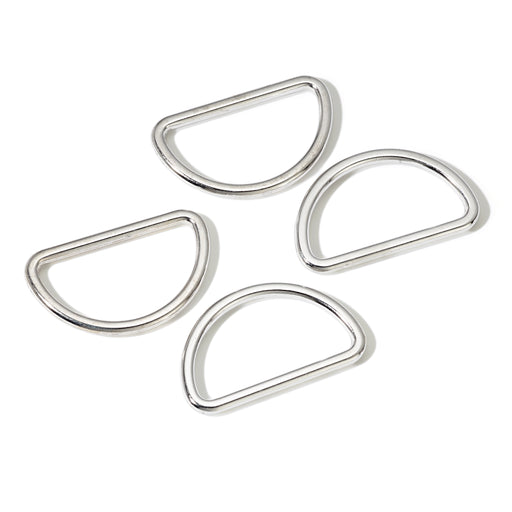 Anillo Semicirculares D 30mm plateado-[product type]-[product vendor] - Modista