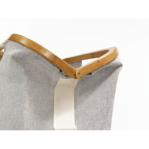 Bolsa Store & Travel canvas & Bamboo M gris-[product type]-[product vendor] - Modista