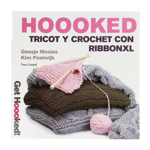 Libro Tricot y Crochet con Ribbon XL-[product type]-[product vendor] - Modista