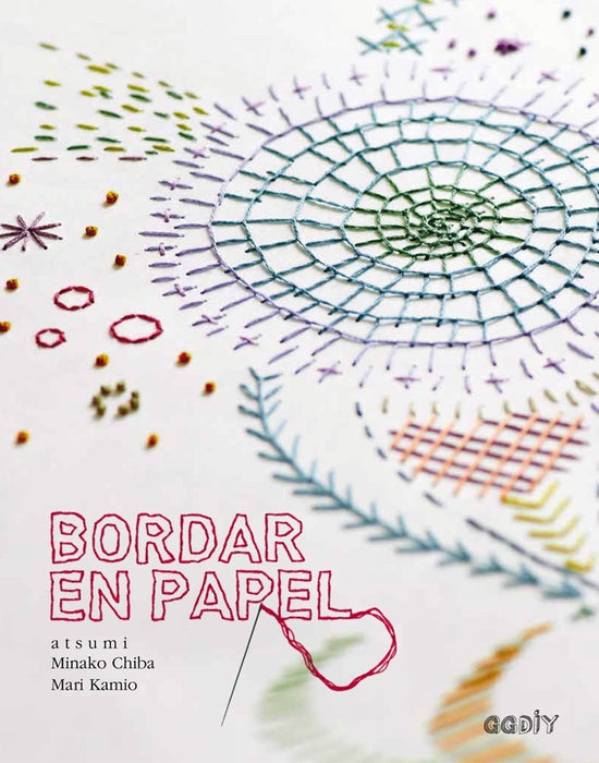 Libro Bordar en Papel - Modista