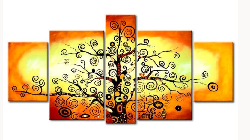 Tree of Life Painting, Acrylic Tree of Life Painting, Tree Painting, Modern Art Painting