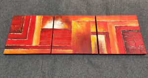 Painting Samples of 3 Piece Wall Art, 3 Piece Painting, 3 Panel Acrylic Painting, Modern Art Painting