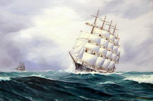 Boats and Ships Painting