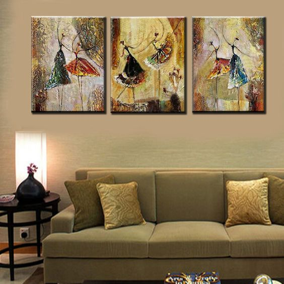 Abstract Art Painting, Painting on Sale, Ballet Dancer Art, Bedroom Wall Art, Canvas Art, Contemporary Art