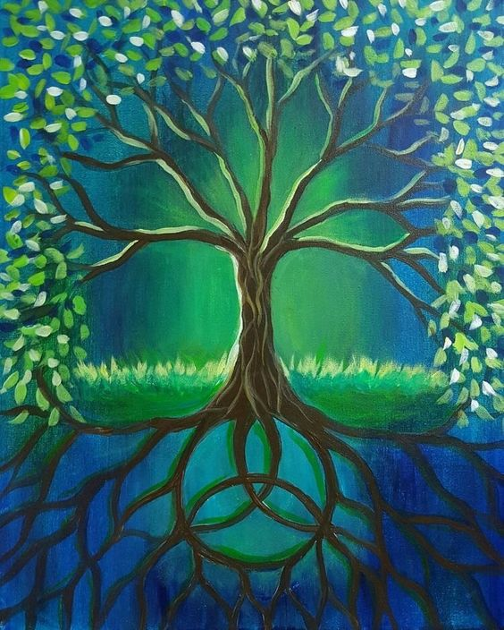 30 Easy Tree Painting Ideas for Beginners, Easy Landscape Painting Ideas, DIY Acrylic Painting Techniques