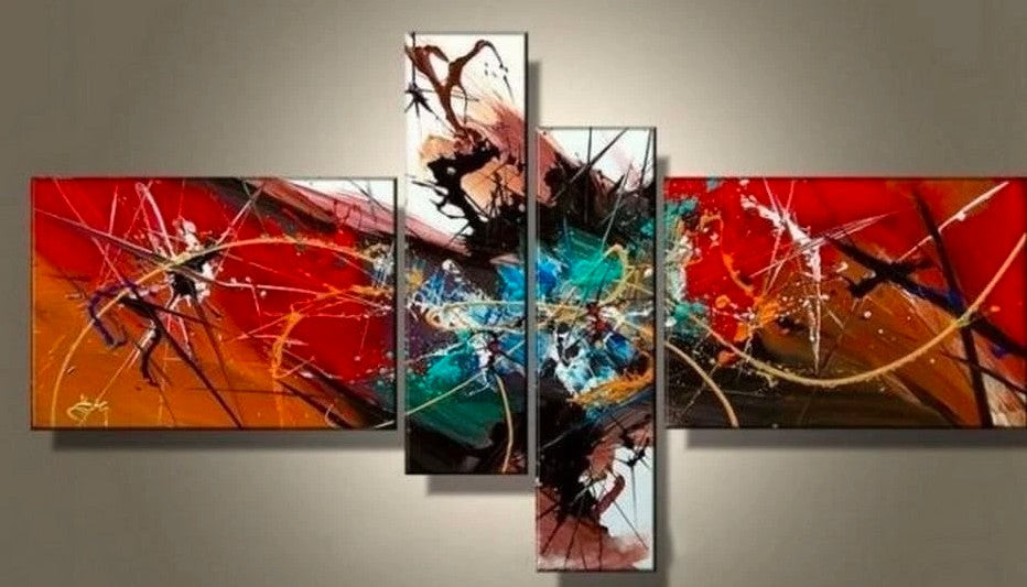 Abstract Paintings, Canvas Paintings, Acrylic Wall Art, Modern Art, Acrylic Painting on Canvas