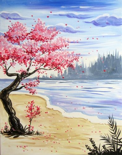 30 Easy Tree Painting Ideas for Beginners, Easy Landscape Painting Ideas, Easy Painting on Canvas, DIY Acrylic Painting Techniques