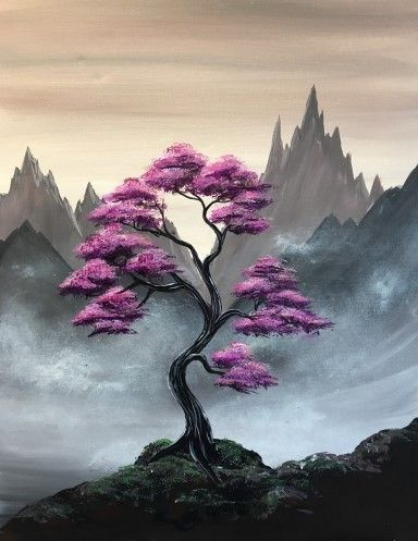 30 Easy Tree Painting Ideas for Beginners, Easy Landscape Painting Ideas, DIY Acrylic Painting Techniques, Easy Painting on Canvas