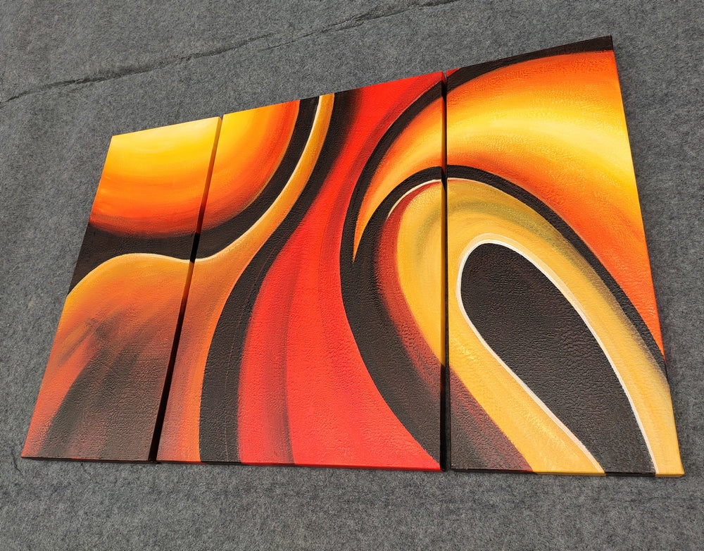 contemporary painting, modern abstract painting, 100% hand painted canvas painting for sale