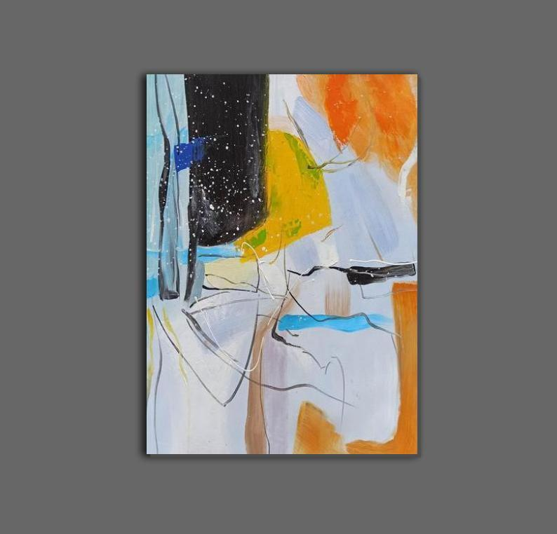 Extra Large Wall Art Painting, Original Acrylic Painting for Dining Room, Modern Contemporary Abstract Artwork