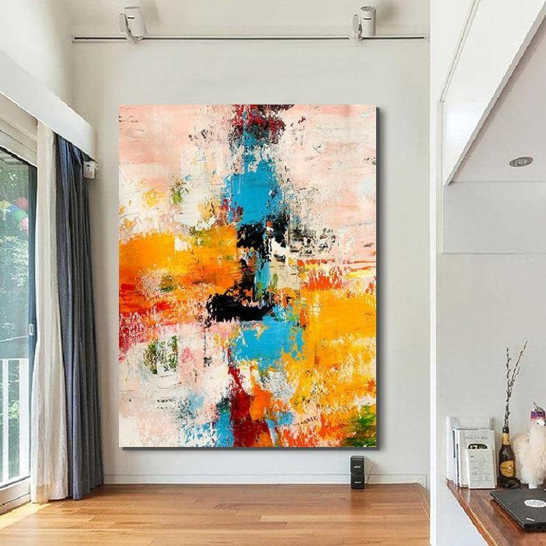 Extra Large Wall Art Painting, Original Canvas Painting for Living Room, Modern Contemporary Abstract Artwork