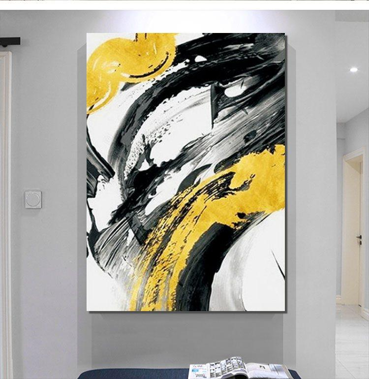 Hand Painted Acrylic Painting, Wall Art Paintings, Modern Abstract Painting, Extra Large Paintings for Living Room - HomePaintingDecor.com