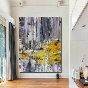 Living Room Wall Art, Extra Large Acrylic Painting, Modern Contemporary Abstract Artwork - HomePaintingDecor.com