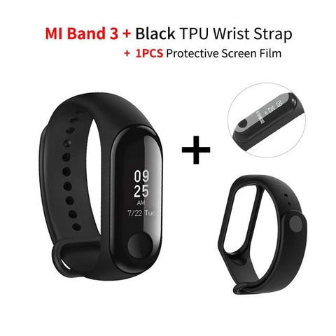 Xiaomi Fitness Tracker, Mi Band 3 Heart Rate Monitor Activity Tracker