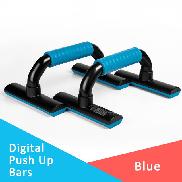 Push Up Bars Exercise