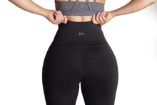 Load image into Gallery viewer, Lena Pocket Black Legging