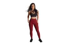 Load image into Gallery viewer, Lena Pocket Dark Red Legging