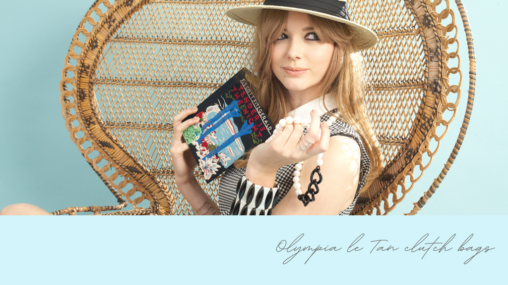 Olympia le Tan Clutch bags Available at Water Jewels