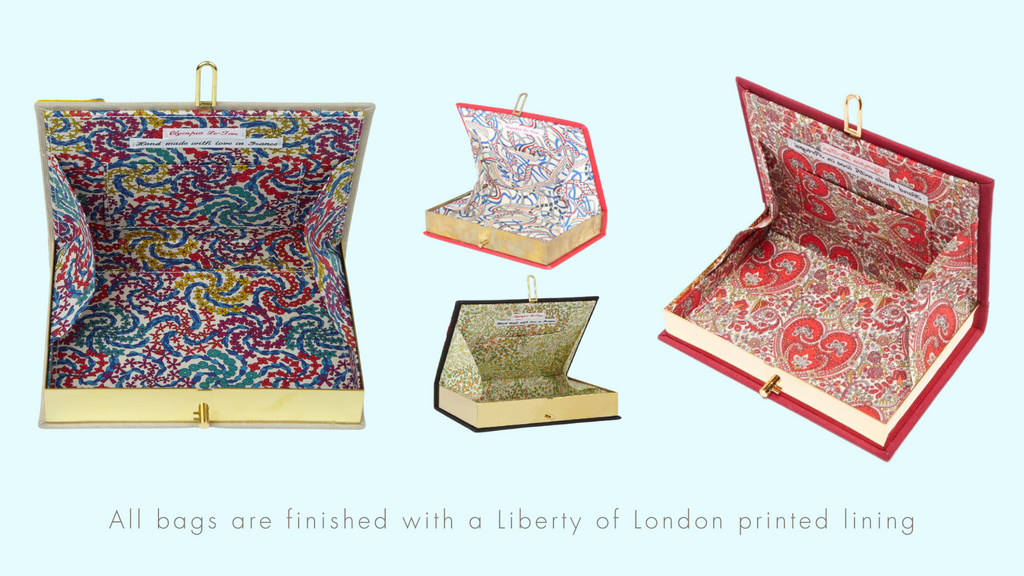 Olympia Le Tann - Water Jewels - Liberty of London Lining