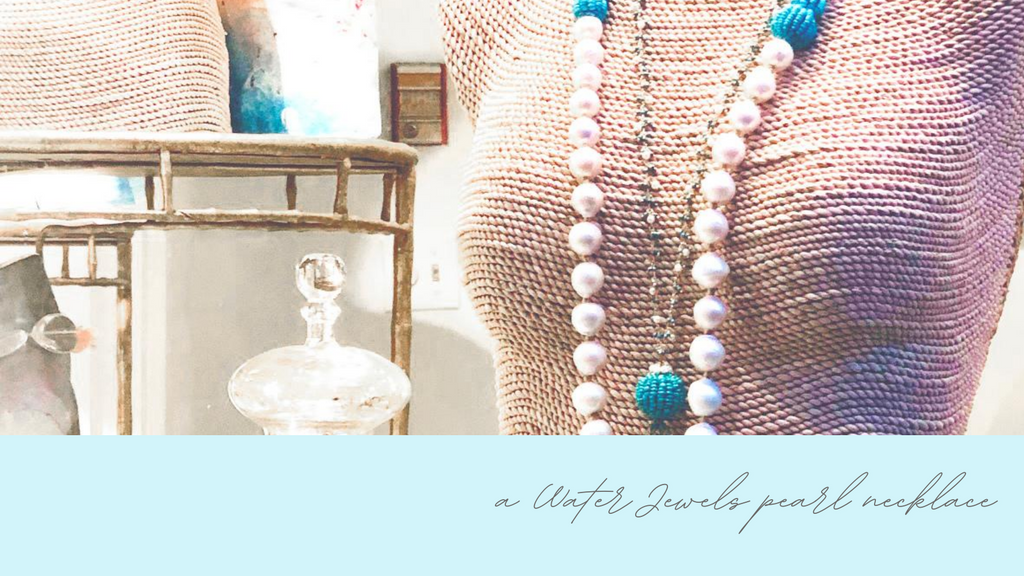 Nantucket Jewellery Store: Water Jewels Pearl Necklace