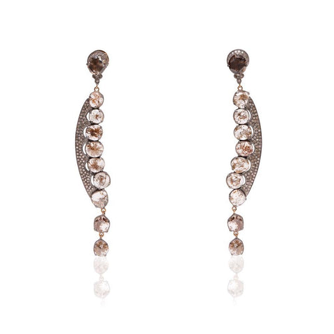 Peapod Diamond Earring