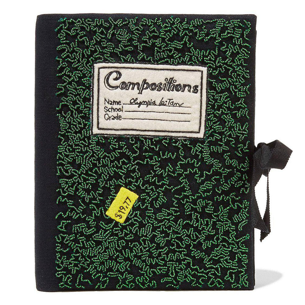Green Compositions Notebook Olympia Le Tan Book Clutch