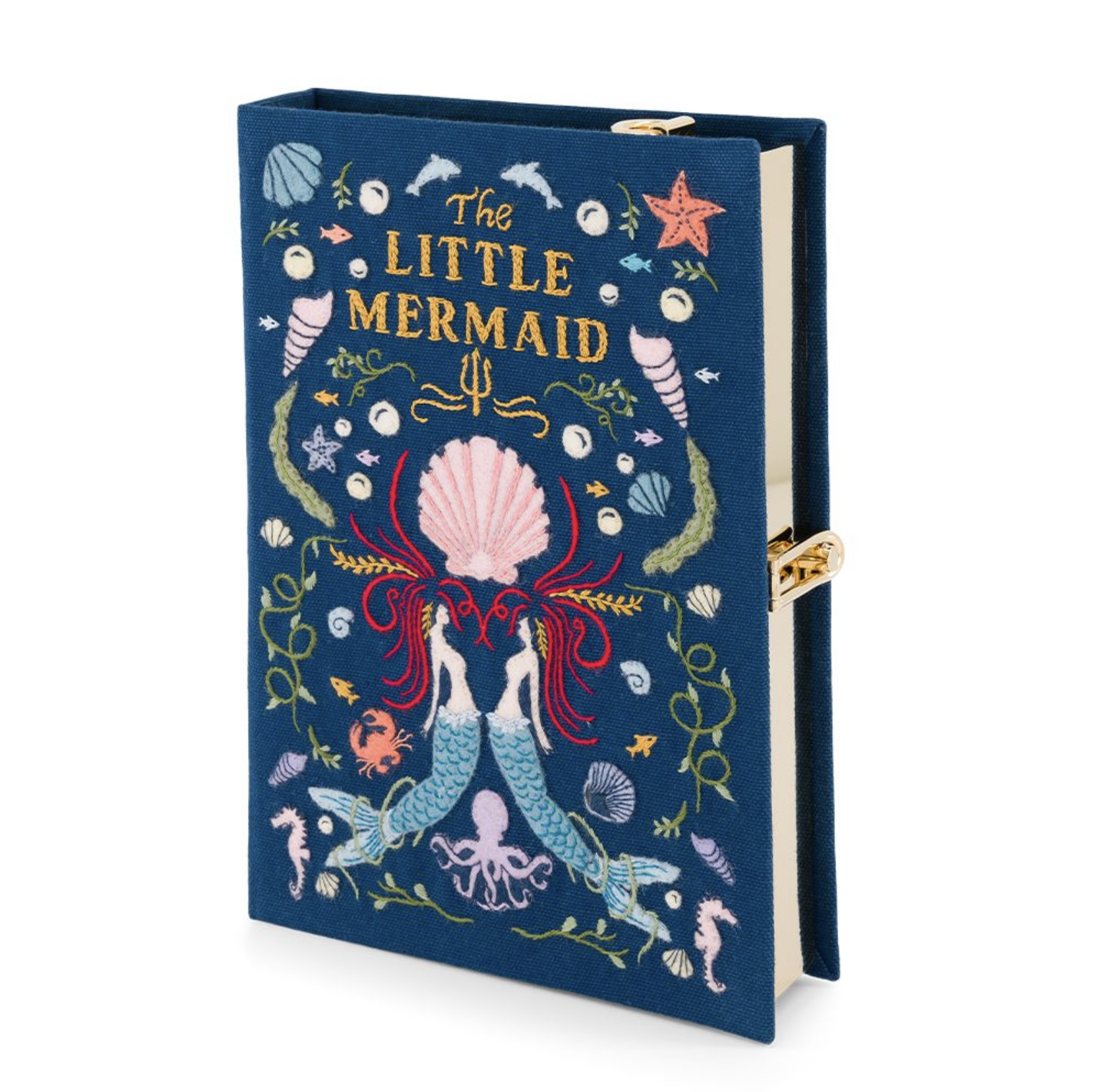 PRE-ORDER Olympia Le-Tan The Little Mermaid Book Clutch Strapped