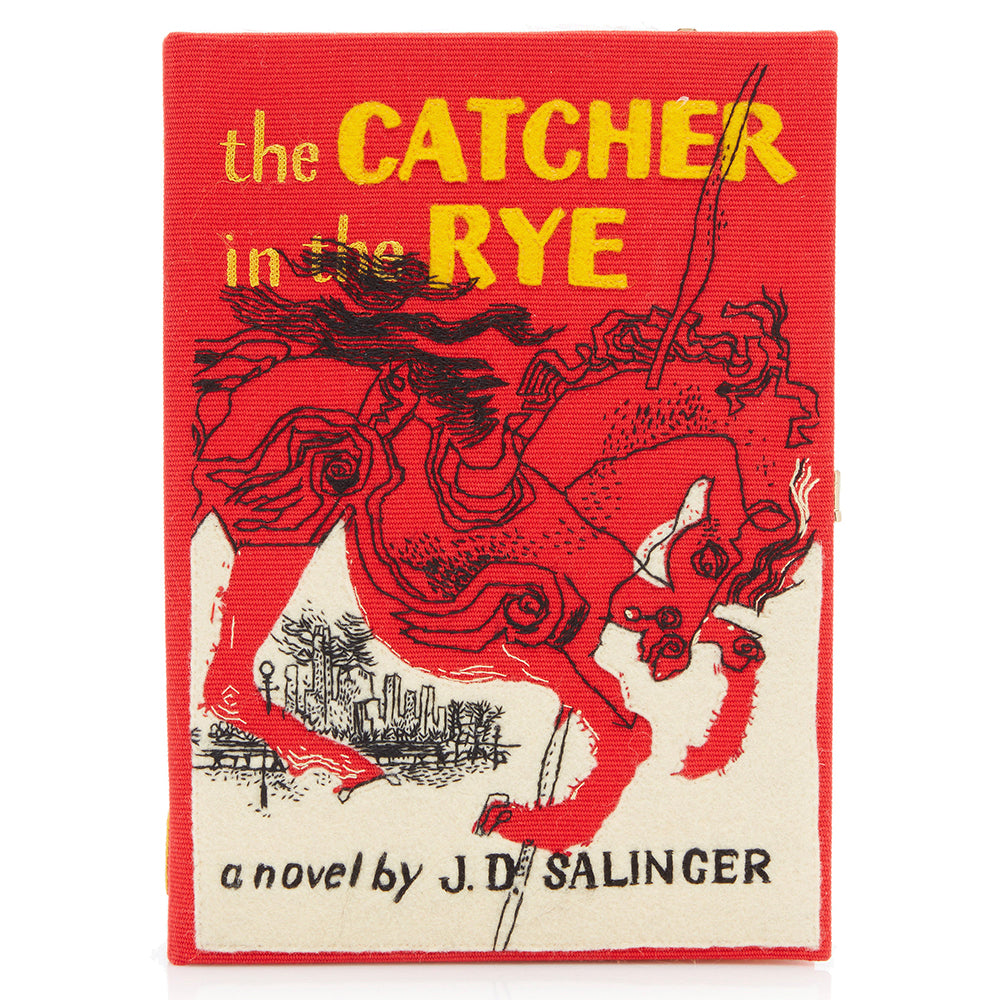 The Catcher In The Rye Olympia Le Tan Clutch Bag Strapped