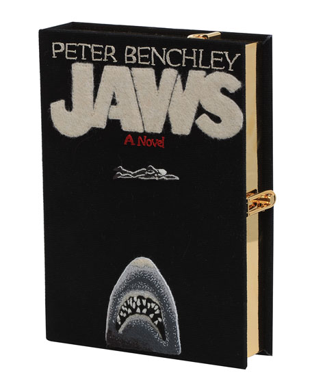 Olympia Le Tan Jaws Book Clutch