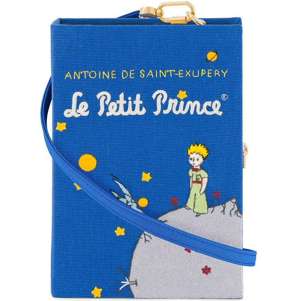 Le Petit Prince Olympia Le Tan Book Clutch Strapped