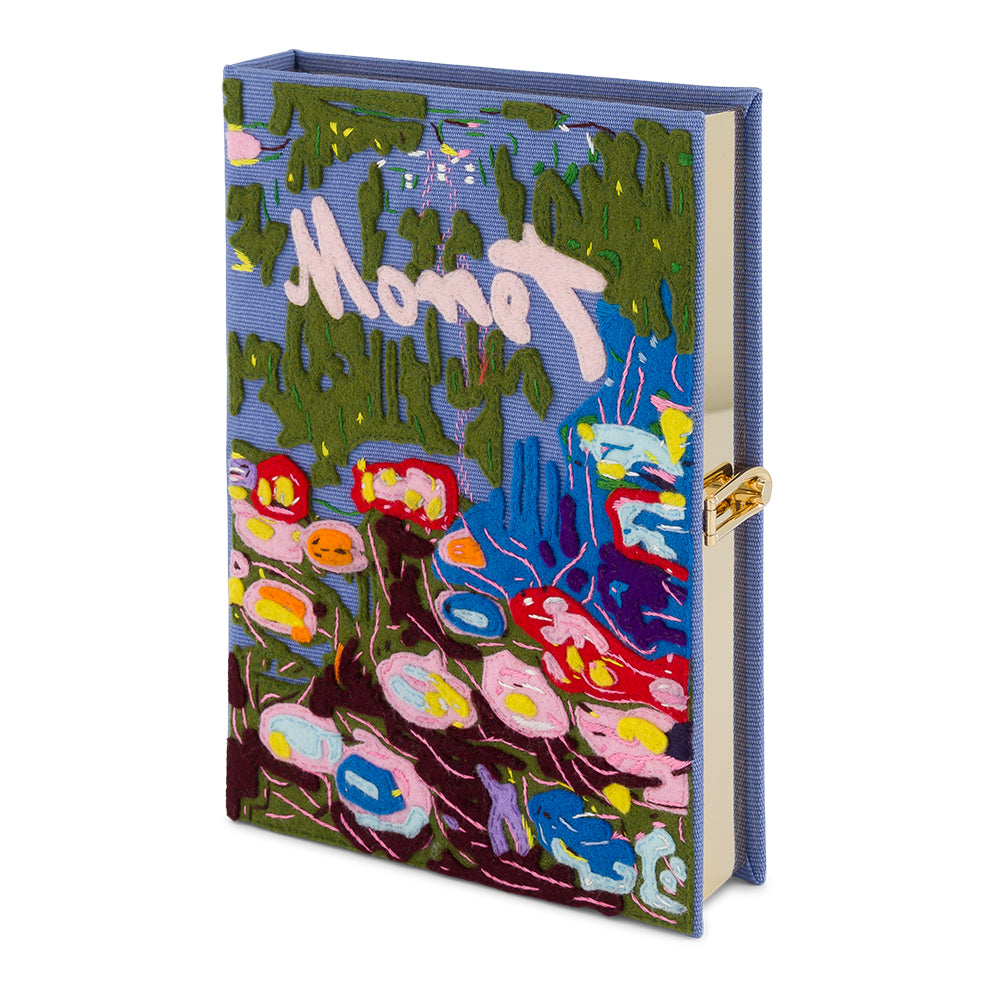 Monet Painting Olympia Le Tan Book Clutch