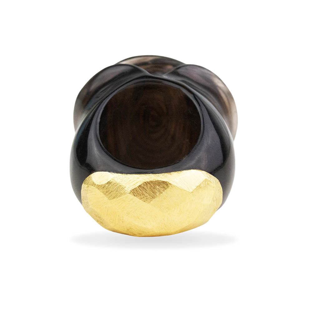 Onyx Rose Ring By Barbara Harris Water Jewels