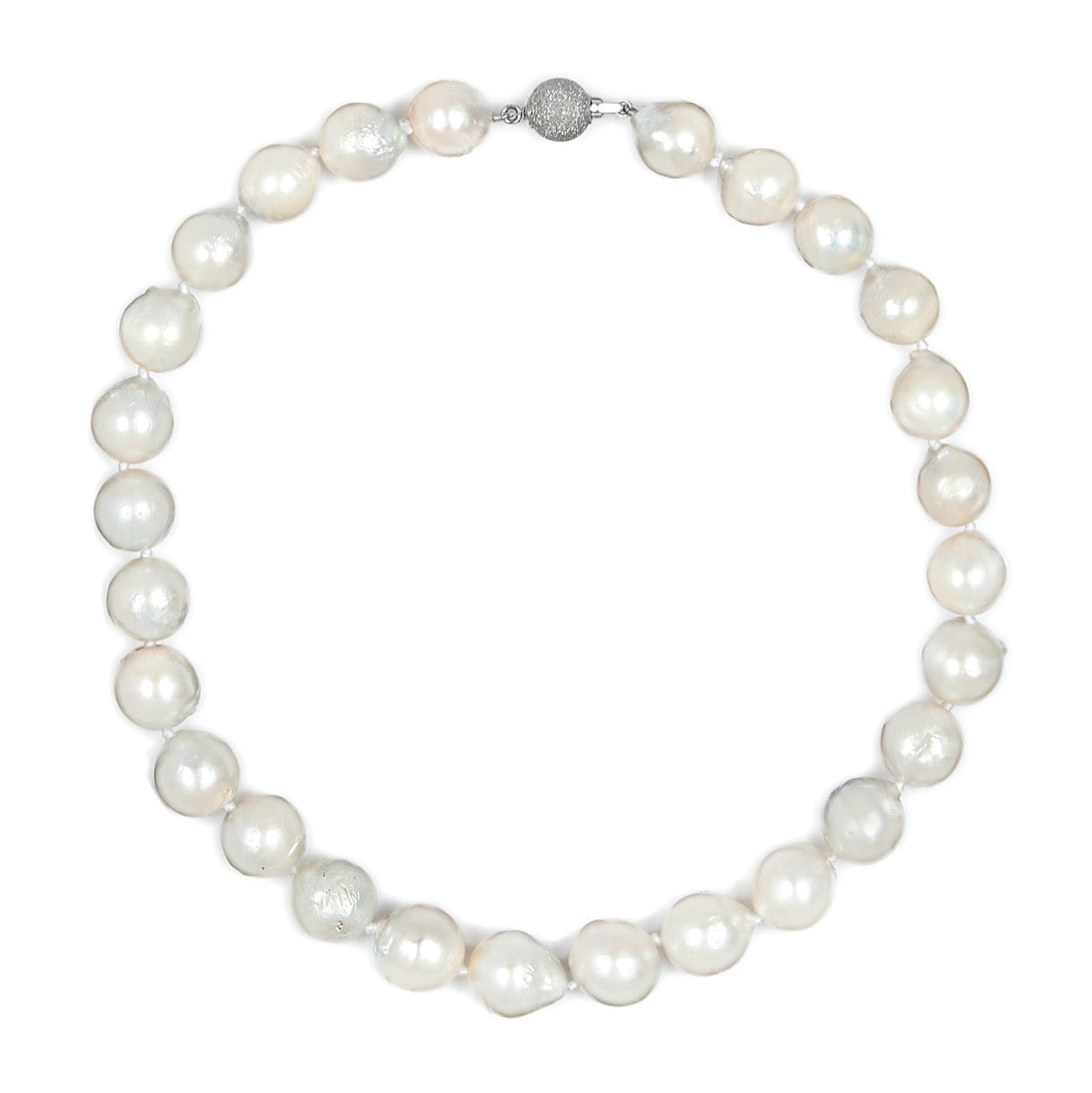 Baroque South Sea Pearl Single Strand Necklace
