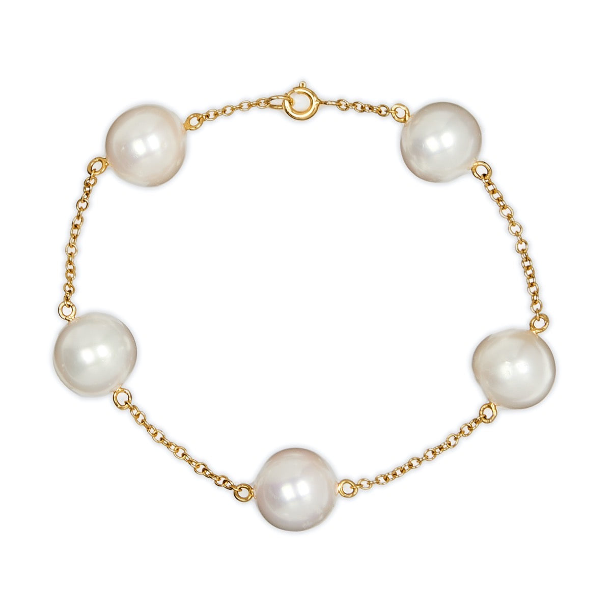 South Sea Pearl Chain Bracelet