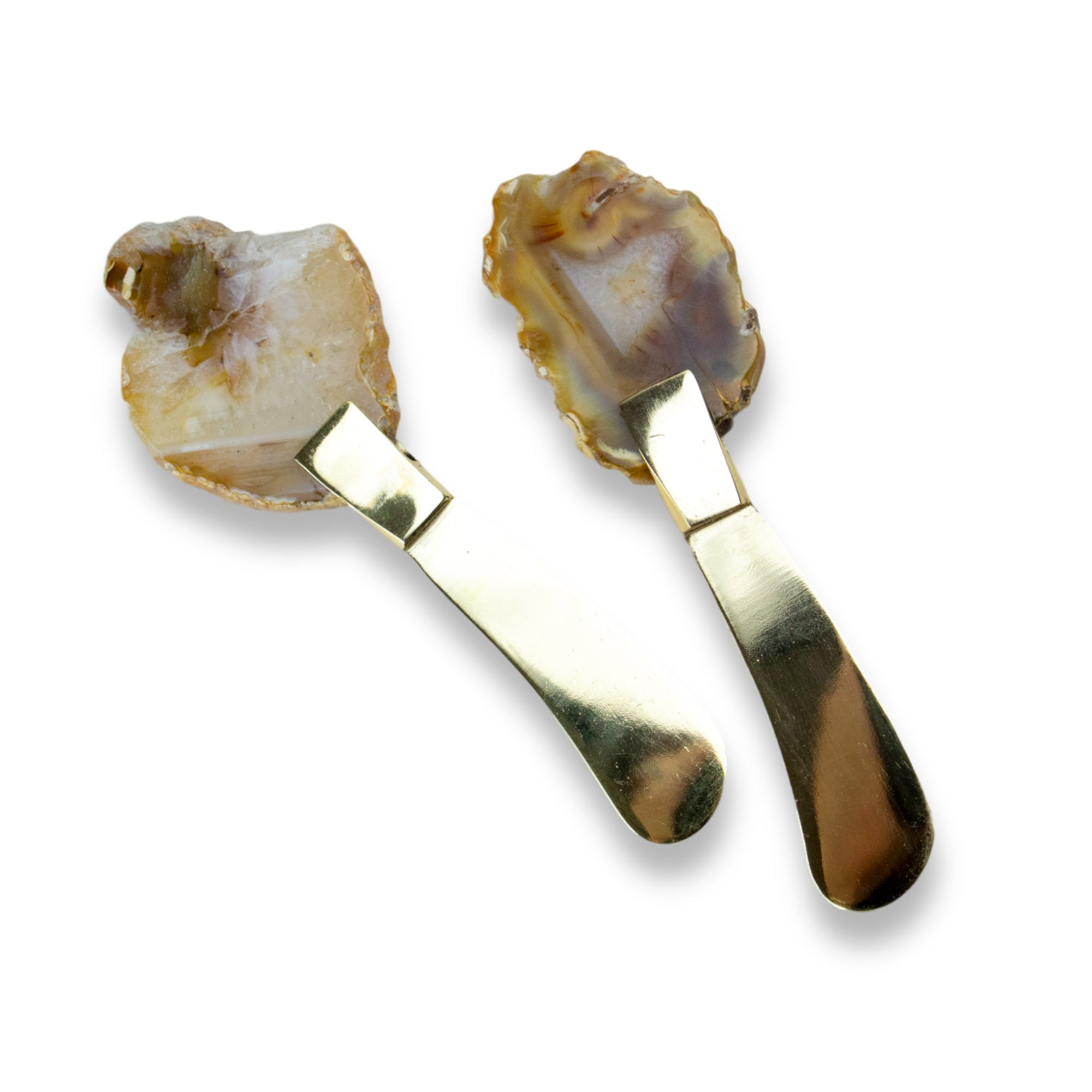 Gold Agate Spreader Set