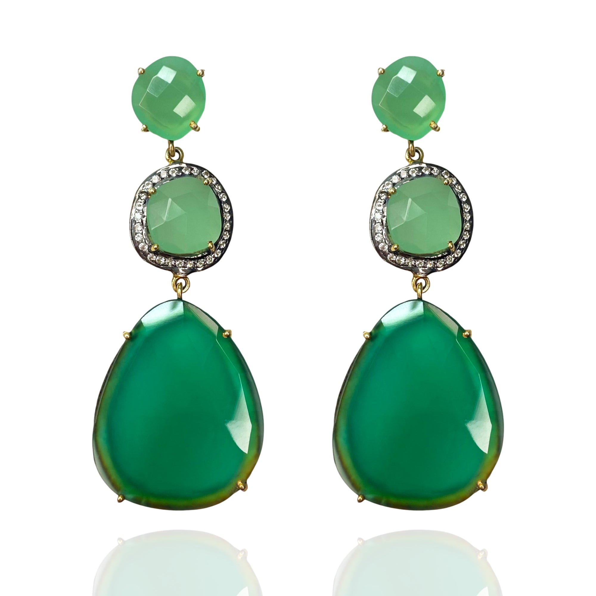 Tivoli Grand Tour Triple Earring