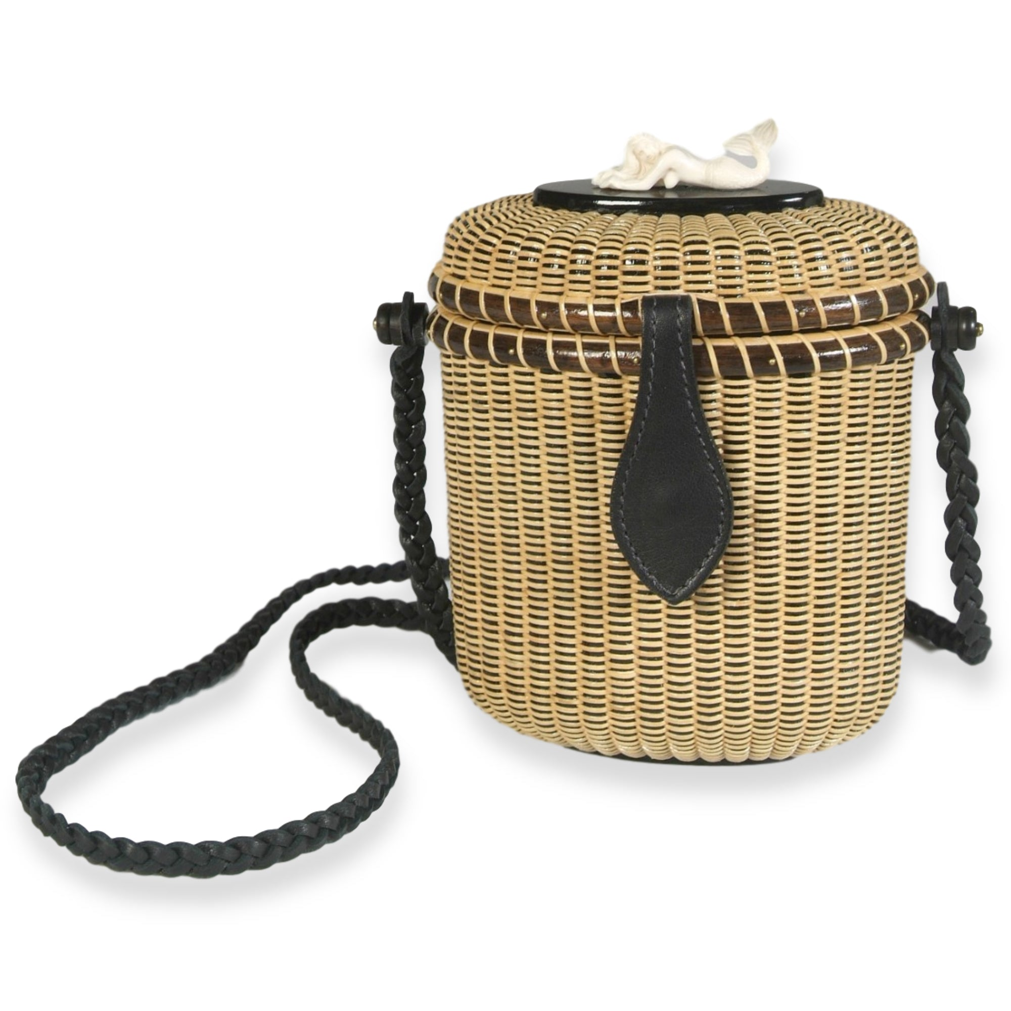Crossbody Fishing Creel Nantucket Basket