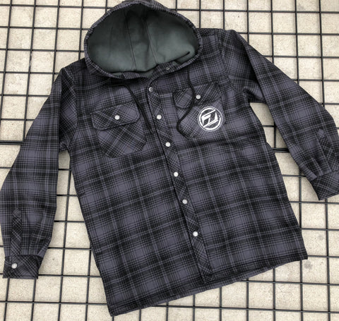 2 Stroke Fleece Lined Flanel Jacket