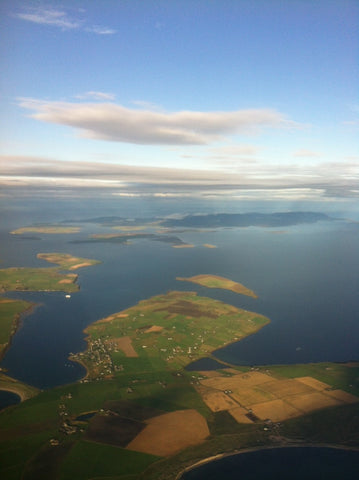 Orkney from the skies
