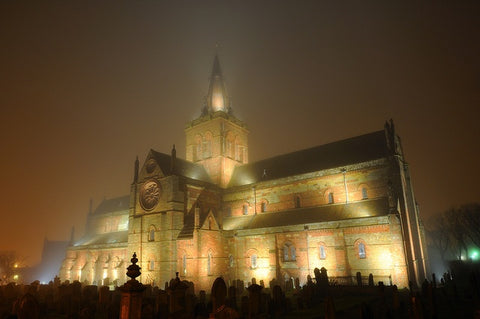 New year at St. Magnus Cathedral