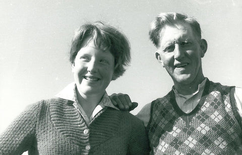 Sheila with her father