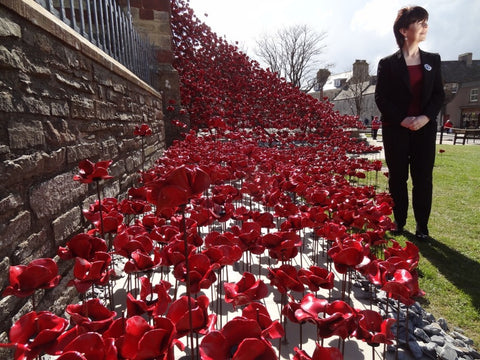 Heather Rendall by the weeping window